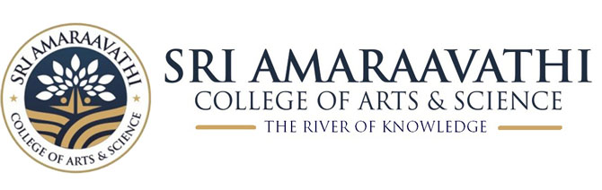 Sri  Amaraavathi  College of Arts & Science Logo